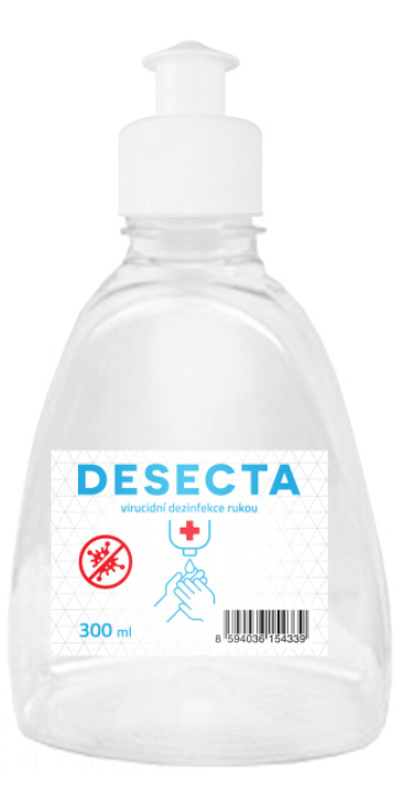 Desecta 80% dezinfekce 300 ml