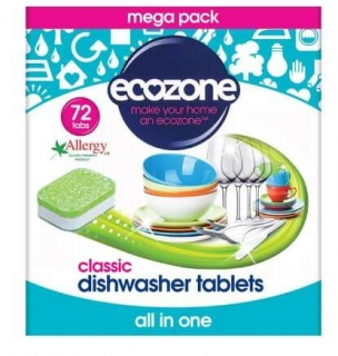 Ecozone tablety do myčky 5v1 72 tablet