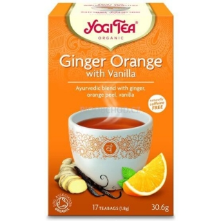 Yogi Tea Ginger-Orange-Vanilla zázvorový 17x1,8g BIO