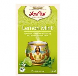 Yogi Tea Bio Lemon Mint 17 x 1.8 g