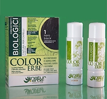 Color Erbe Biologici No.01 Černá 135 ml