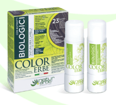 Color Erbe Biologici No.23 Tmavá blond