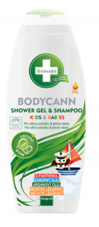 Bodycann shampoo Kids & Babies 250 ml