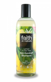 Faith in Nature šampon proti lupům Citrón & Tea Tree 250ml