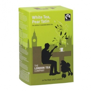 The London Tea Company Bílý čaj s hruškou White tea & Pear Tatin 20ks