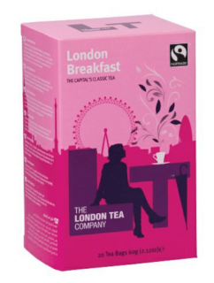 The London Tea Company Černý čaj London Breakfast 20 ks