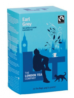 The London Tea Company Černý čaj Earl Grey 20 ks