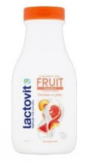 Lactovit Fruit Broskev a grep sprchový gel 500 ml