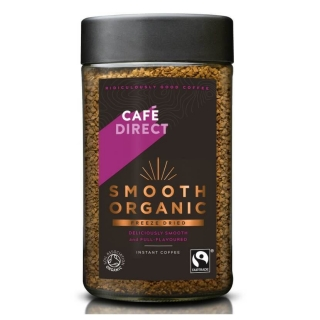 Cafédirect Smooth Organic Bio instantní káva 100 g