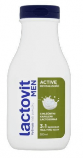 Lactovit Men Active Sprchový gel 300 ml